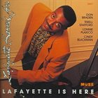 LAFAYETTE HARRIS JR Lafayette Is Here album cover