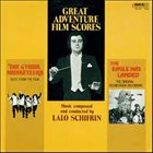 LALO SCHIFRIN Great Adventure Film Scores - The Four Musketeers / The Eagle Has Landed album cover