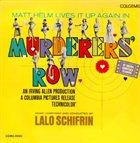 LALO SCHIFRIN Murderers' Row album cover