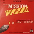 LALO SCHIFRIN Music From Mission: Impossible album cover