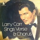 LARRY CARR Sings Verse & Chorus album cover