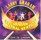 LARRY GRAHAM Live In London album cover