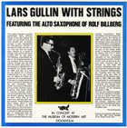 LARS GULLIN Lars Gullin With Strings (Featuring The Alto Of Rolf Billberg) album cover