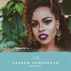 LAUREN HENDERSON Riptide album cover