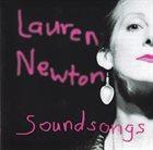 LAUREN NEWTON Soundsongs album cover