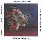 LAUREN NEWTON Trio LTD album cover