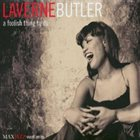 LAVERNE BUTLER A Foolish Thing to Do album cover