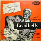LEAD BELLY Classics In Jazz album cover