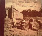 LEAD BELLY Negro Sinful Songs album cover