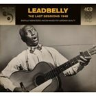 LEAD BELLY The Last Sessions 1948 album cover