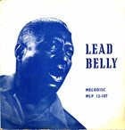 LEAD BELLY The Saga Of Leadbelly album cover