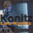 LEE KONITZ After Hours album cover