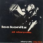 LEE KONITZ At Storyville album cover