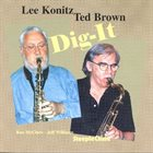 LEE KONITZ Dig-It (with Ted Brown) album cover