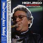 LEE KONITZ High Jingo album cover