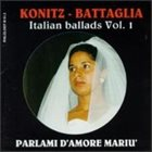 LEE KONITZ Italian Ballads Vol.1 - Parlami D'Amore Mariù (with Stefano Battaglia) album cover