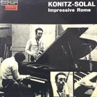 LEE KONITZ Konitz - Solal : Impressive Rome album cover