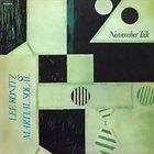 LEE KONITZ Lee Konitz & Martial Solal : November Talk album cover