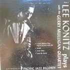 LEE KONITZ Lee Konitz Plays With The Gerry Mulligan Quartet album cover