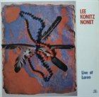 LEE KONITZ Live At Laren album cover