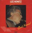 LEE KONITZ Live In Sweden-Glad, Koonix! album cover