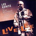 LEE KONITZ Live-Lee album cover