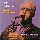 LEE KONITZ More Live-Lee album cover