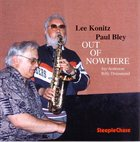 LEE KONITZ Out Of Nowhere album cover