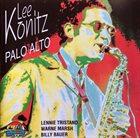 LEE KONITZ Palo Alto album cover