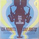 LEE KONITZ Sax Duets album cover