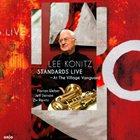 LEE KONITZ Standards Live ~ At The Village Vanguard album cover