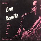 LEE KONITZ Lee Konitz With Tristano, Marsh And Bauer (aka Subconscious-Lee) album cover