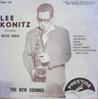 LEE KONITZ Lee Konitz Featuring Miles Davis ‎: The New Sounds album cover