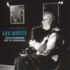 LEE KONITZ Unaccompanied Live In Yokohama album cover