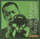 LEE MORGAN Plays Benny Golson album cover