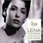 LENA HORNE Best of the War Years album cover