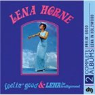 LENA HORNE Feelin' Good / Lena in Hollywood album cover