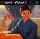 LENA HORNE Songs by Burke and Van Heusen album cover