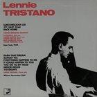 LENNIE TRISTANO Lennie Tristano album cover