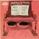 LENNIE TRISTANO Lennie Tristano, Arnold Ross : Holiday In Piano album cover
