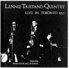 LENNIE TRISTANO Live in Toronto 1952 album cover