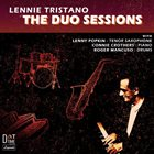 LENNIE TRISTANO The Duo Sessions album cover
