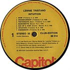 LENNIE TRISTANO V.I.P.-Jazz 17 Lennie Tristano (Intuition - Club Edition) album cover