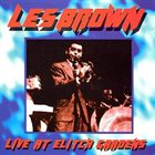 LES BROWN Live at Elitch Gardens 1959 album cover