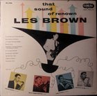 LES BROWN That Sound of Renown album cover