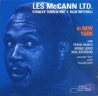 LES MCCANN Les McCann Ltd. : In New York album cover