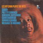 LES MCCANN Les McCann Plays The Hits album cover