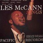LES MCCANN Les McCann, Orchestra Under The Direction Of Gerald Wilson : Les McCann Sings album cover