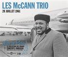 LES MCCANN Les McCann Trio : Live In Paris 28 Juillet 1961 album cover