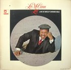 LES MCCANN Live at Shelly's Manne-Hole (aka Jazz Master) album cover